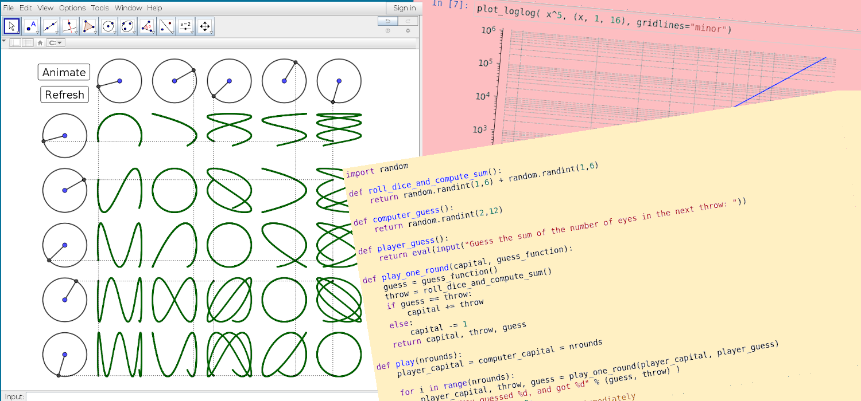 Python Programming & Mathematical Software